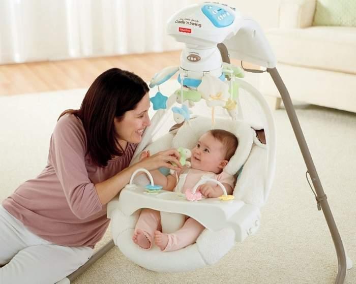 Как правильно выбрать кресло-качалку для новорожденных?