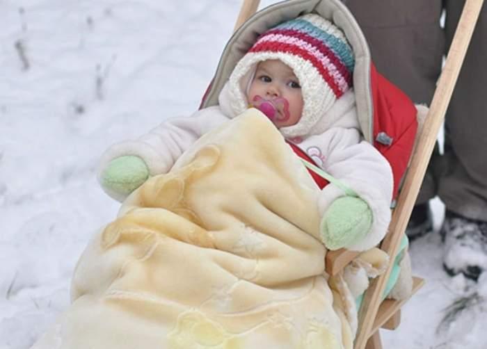 Как одеть новорожденного зимой на прогулку: первые прогулки,.