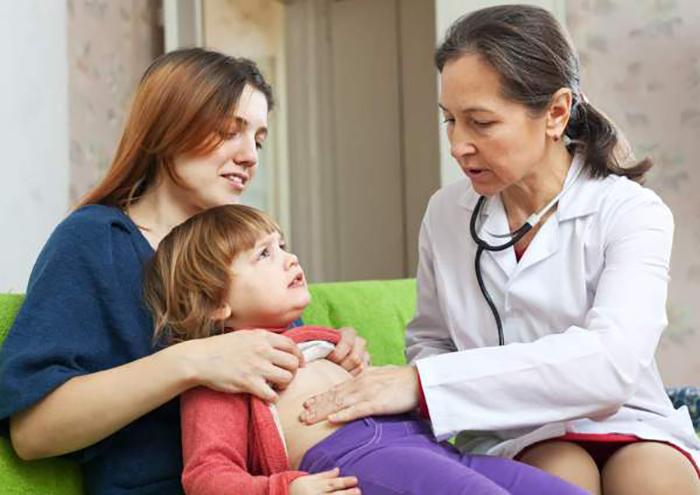 Если болит живот у ребенка и температура 37