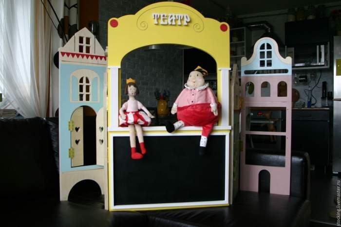 Кукольный театр дома своими руками фото 921